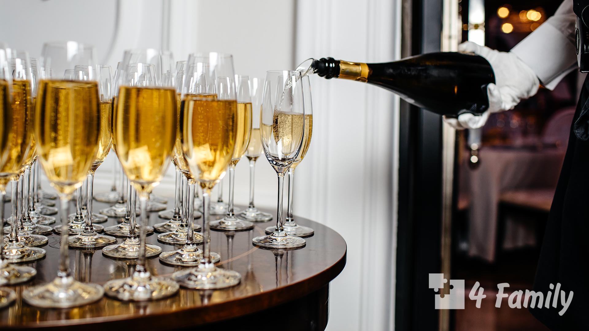 Как пить Шампанское Вдова Клико