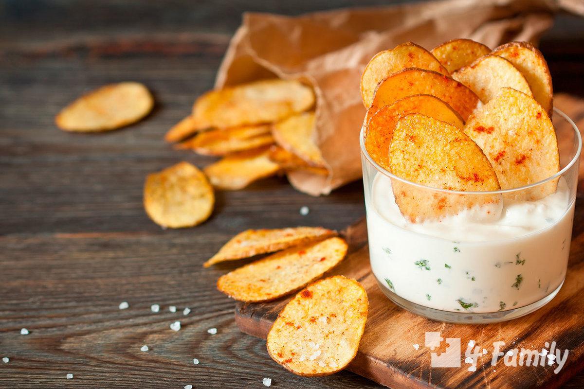 Лайфхак как сделать чипсы