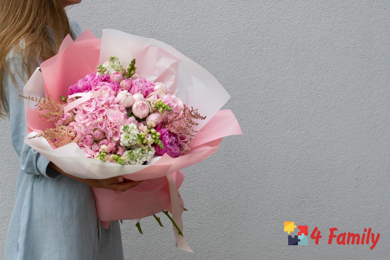 4family Как выбрать букет цветов в подарок