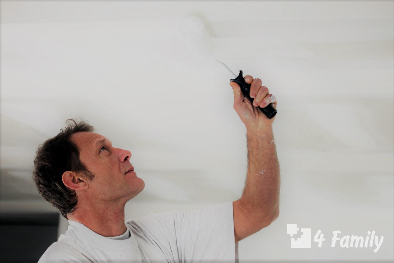 4family Как сделать ремонт потолка своими руками