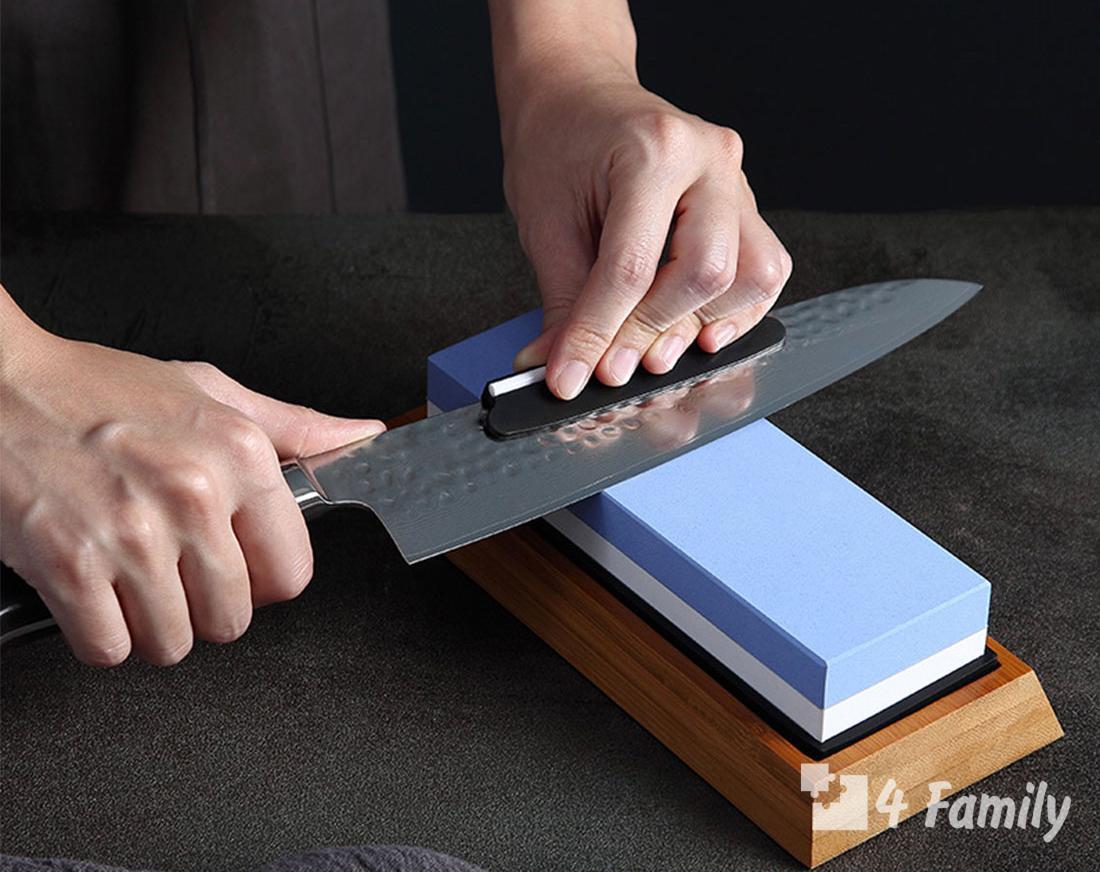 4family Как правильно наточить нож в домашних условиях