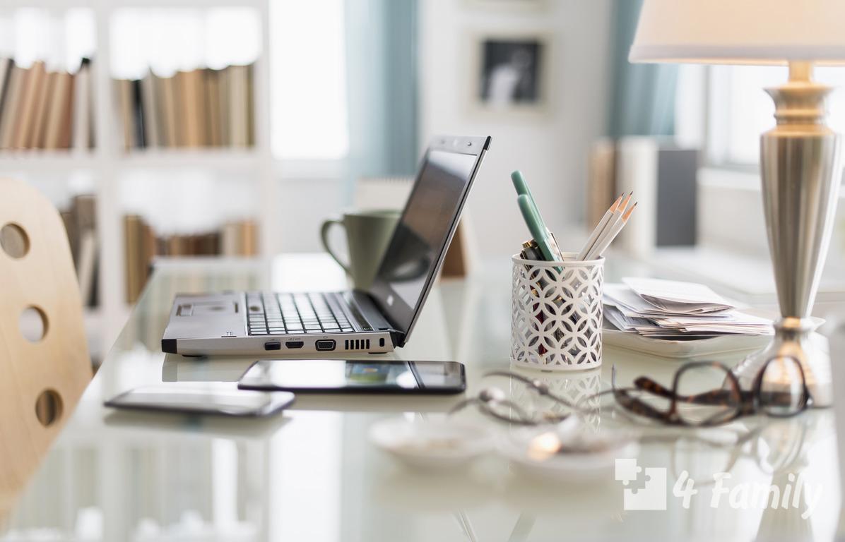 4family Как обустроить домашний офис