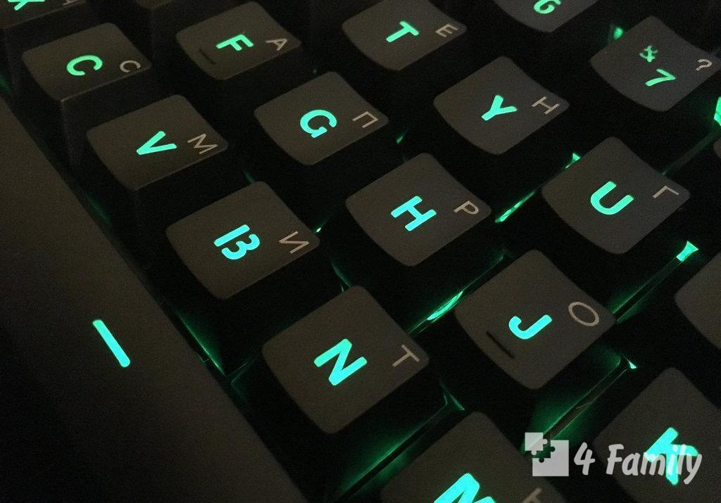 Лайфхак, как сделать клавиатуру светящейся