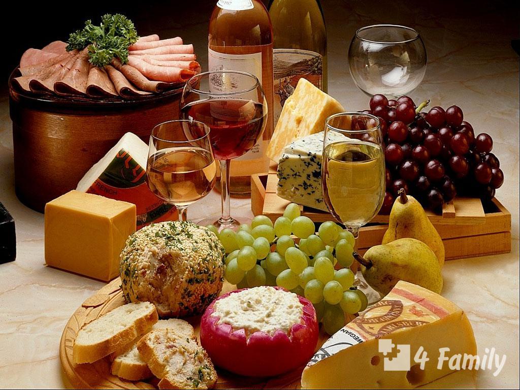 Какая закуска к вину