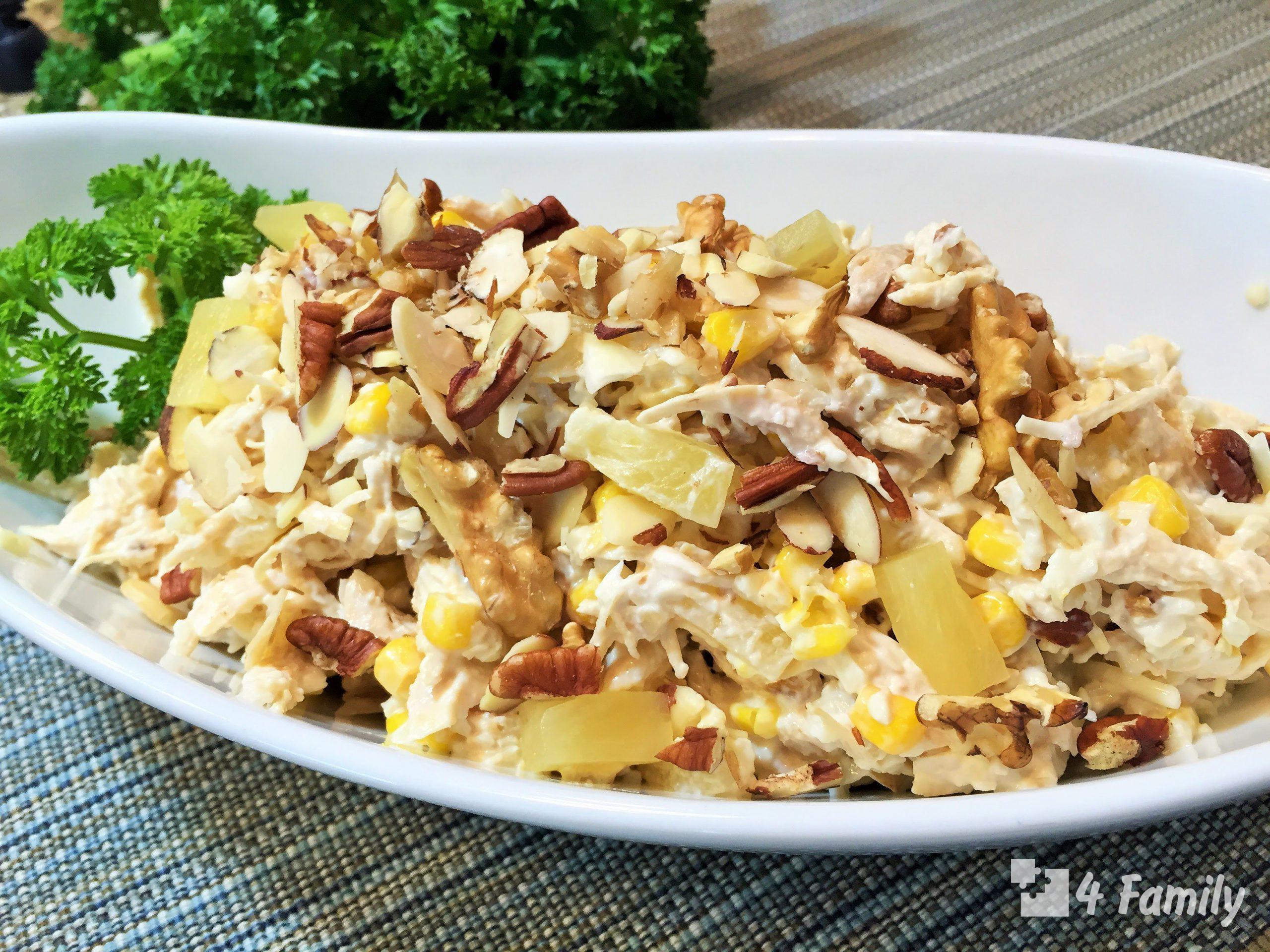 4family Как приготовить салат «Нежность» с куриными яйцами