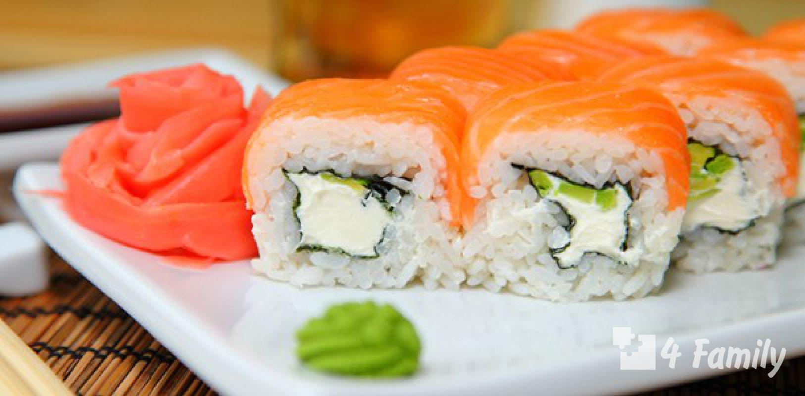 4family Как сделать суши самой дома