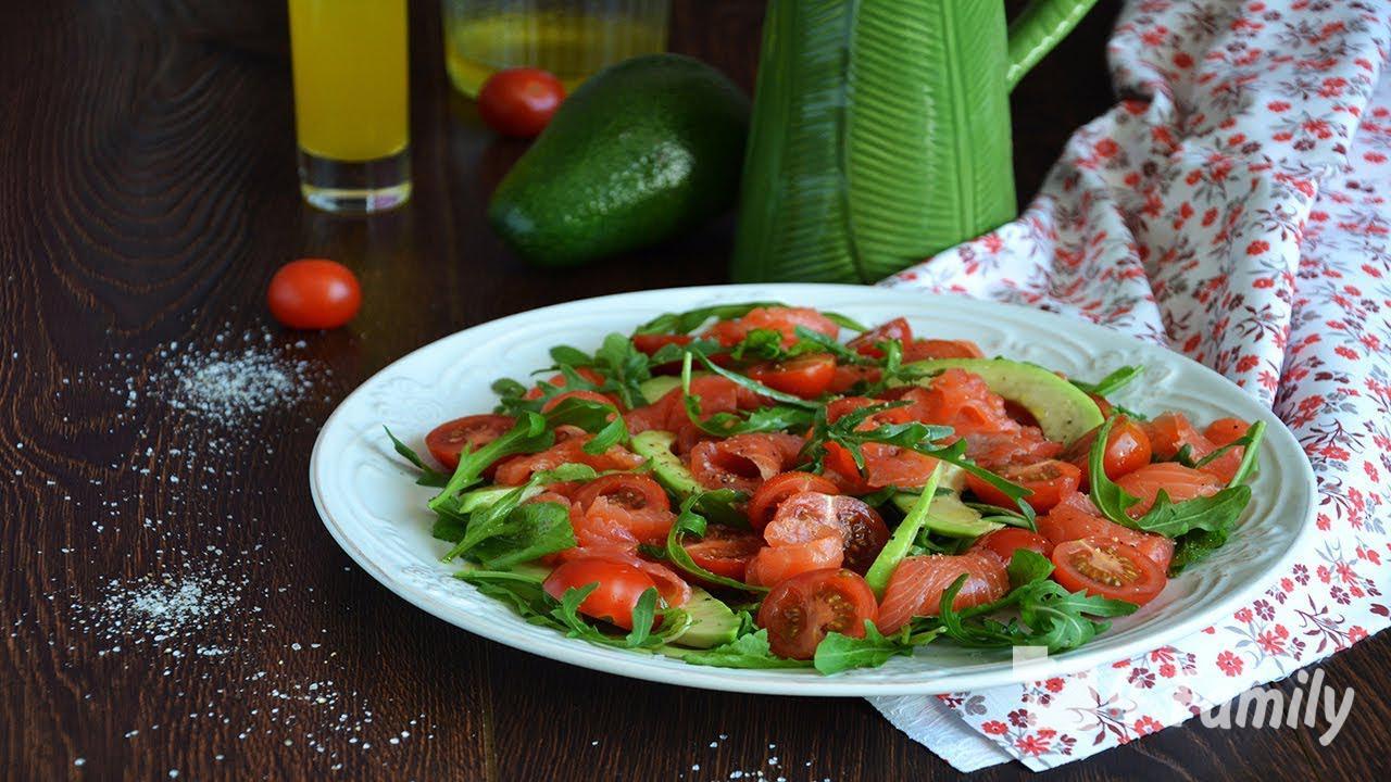 4family Как сделать салат из помидоров с сельдереем