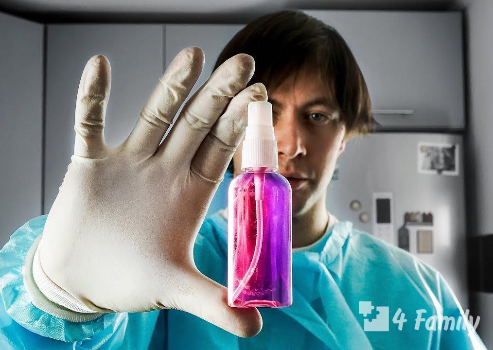 Как сделать антисептик самому дома