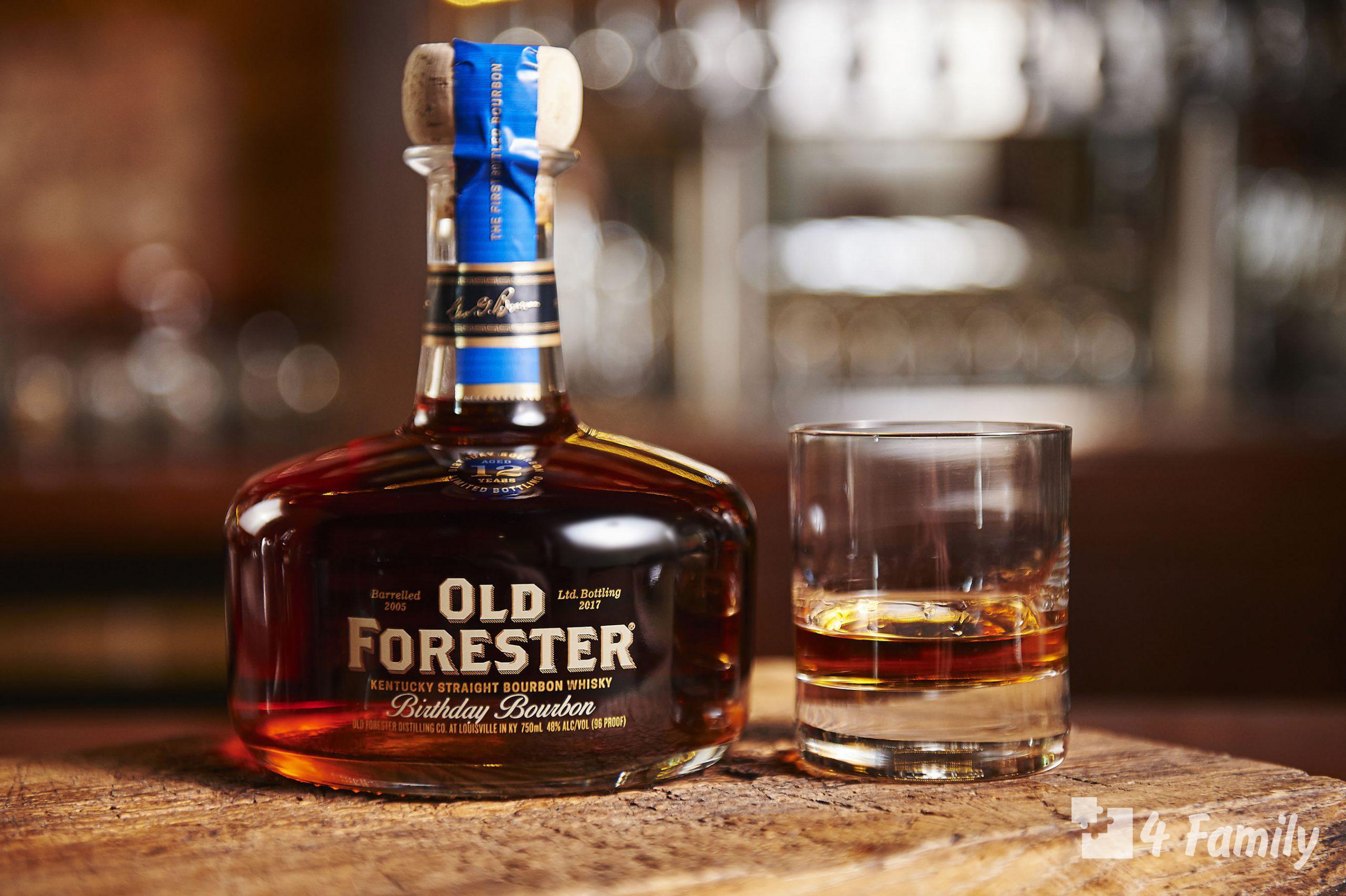 Как пить и с чем пить Бурбон Old Forester