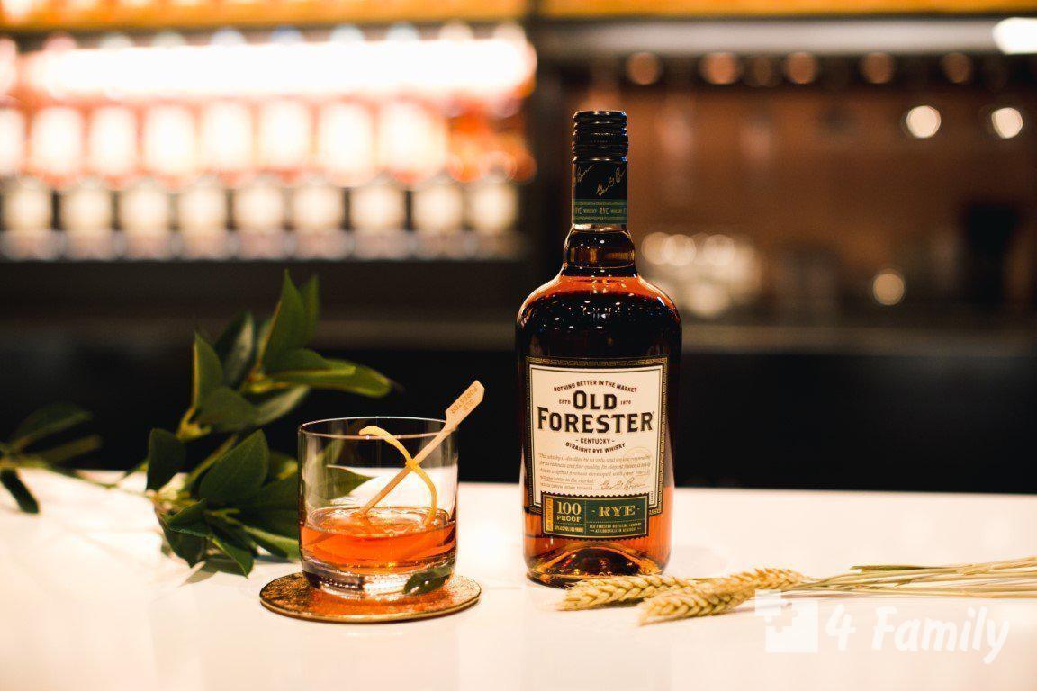 4family Как пить и с чем пить Бурбон Old Forester
