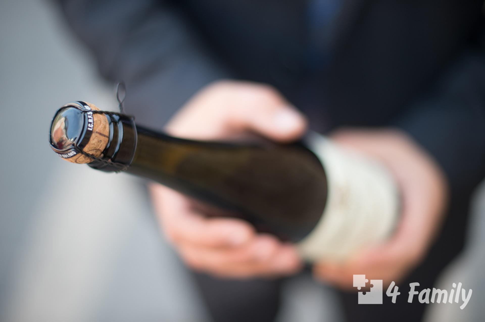 4family Как открыть бутылку шампанского