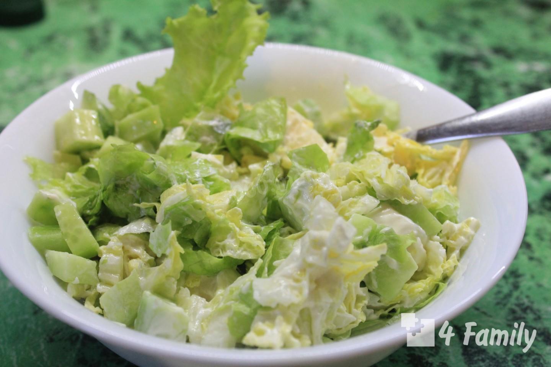 Как сделать салат из свежей капусты с майонезом