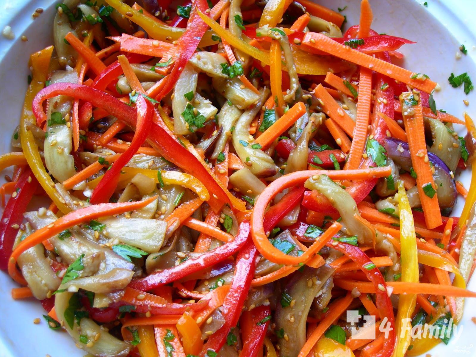 Как сделать салат с корейской морковью