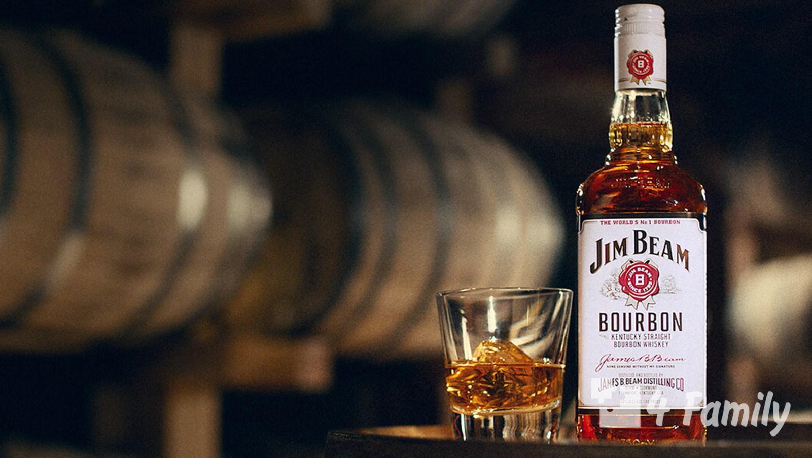 4family Как пить бурбон Jim Beam