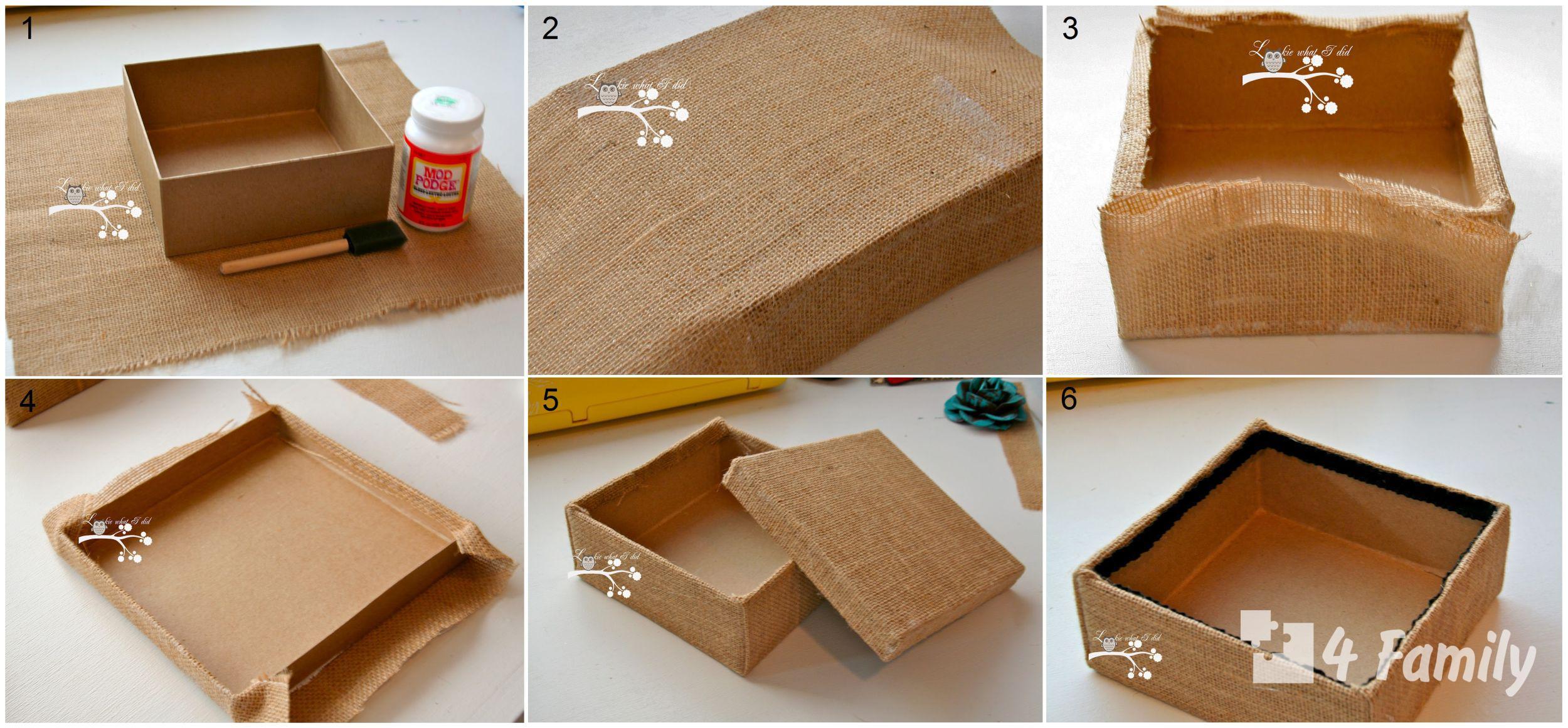 4family Как сделать коробку своими руками ребенку