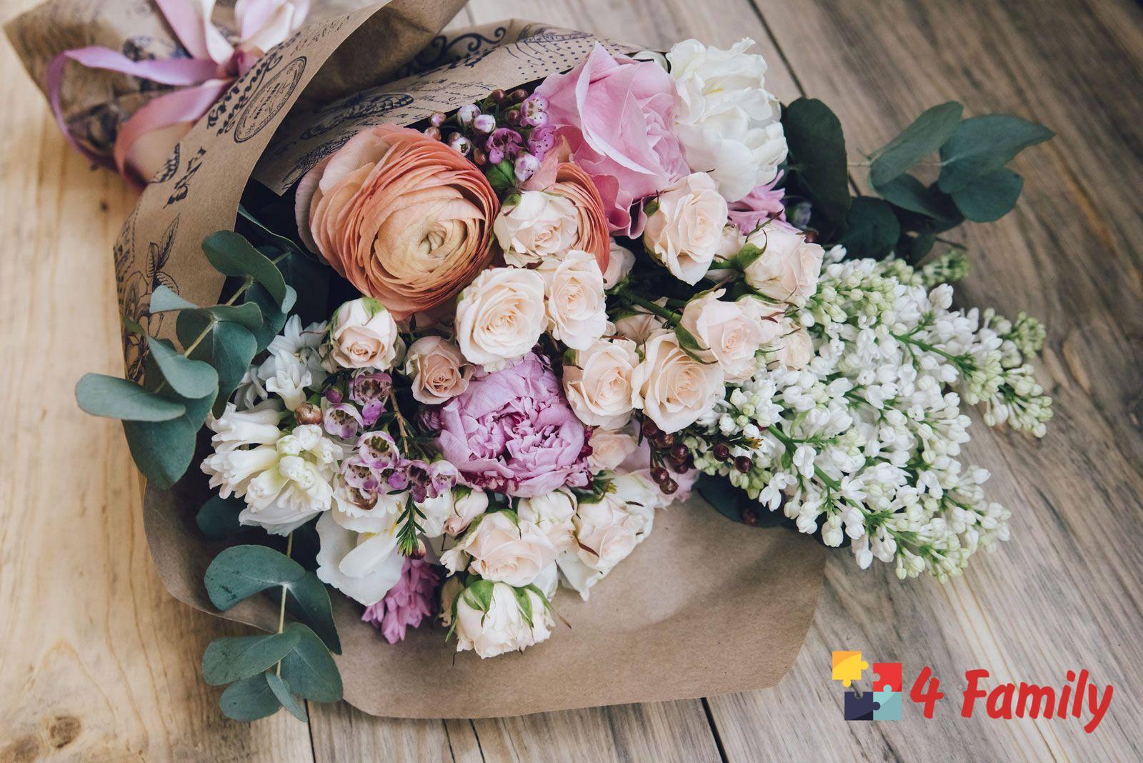 Как выбрать букет цветов в подарок