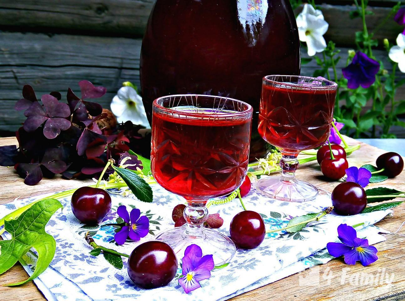 4family Как сделать вишневый ликер в домашних условиях