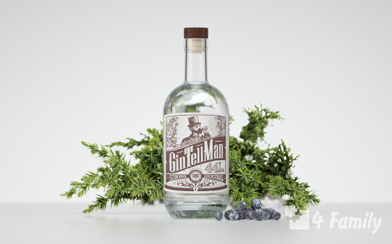 Из чего делают джин