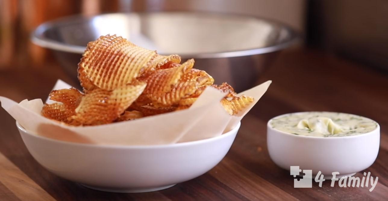 4family айфхак как сделать чипсы дома