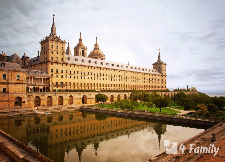 Монастырь Сан-Лоренсо-де-Эль-Эскориал в Мадриде
