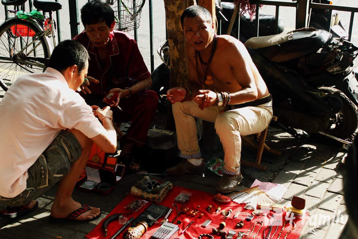 4family Антикварный рынок на улице Дунтай в Шанхае
