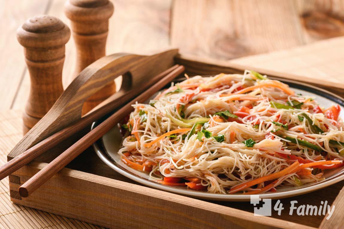 4family Как сделать рисовую лапшу в домашних условиях
