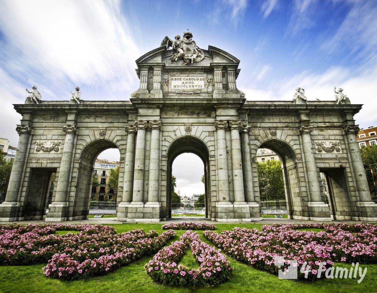 Ворота Алькала в Мадриде