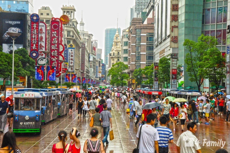 Нанкинская улица главная туристическая улица Шанхая
