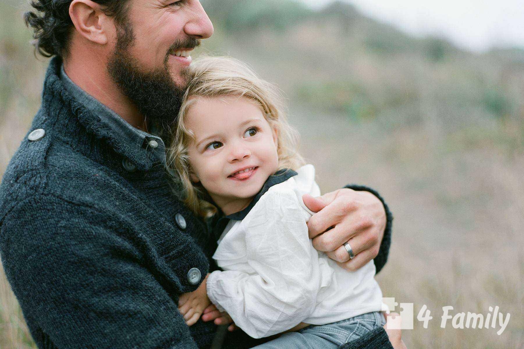 Отцовское воспитание и материнское воспитание