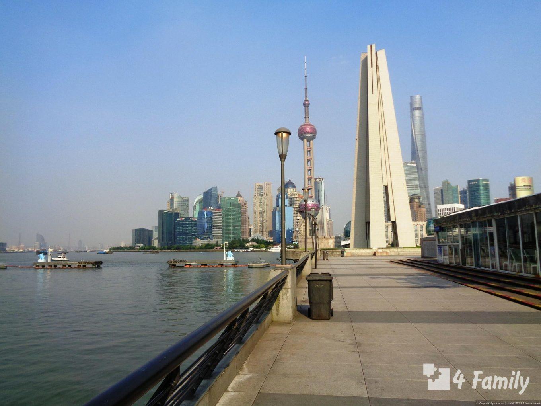 4family Набережная Вайтань в Шанхае