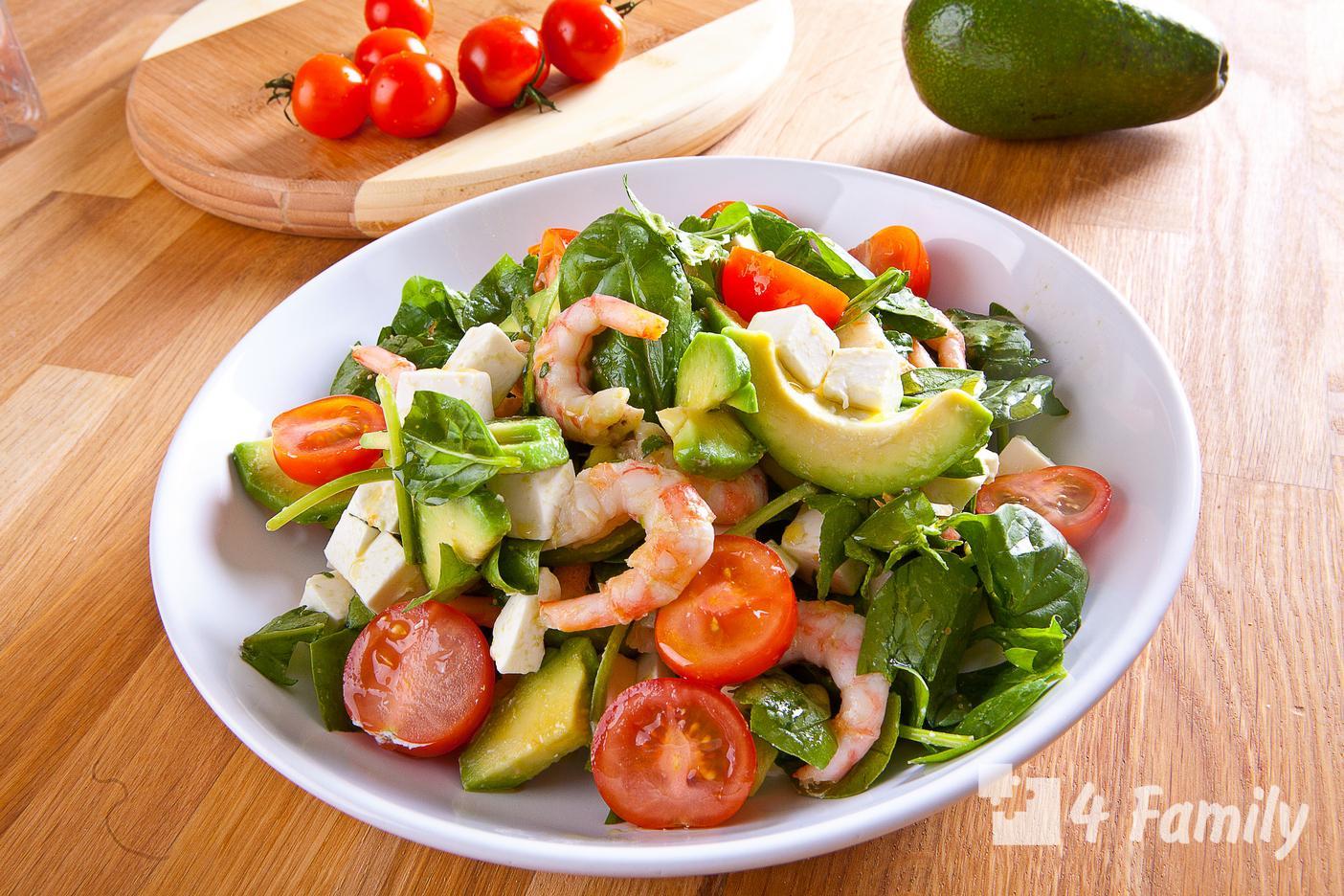 4family Какой салат можно приготовить с морепродуктами