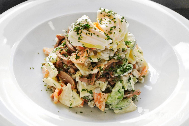 4family Какой салат можно приготовить на обед