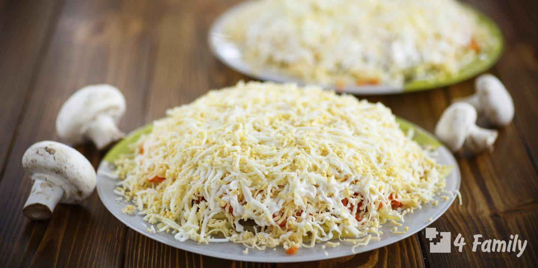 4family Какой салат можно приготовить из колбасного сыра в домашних условиях