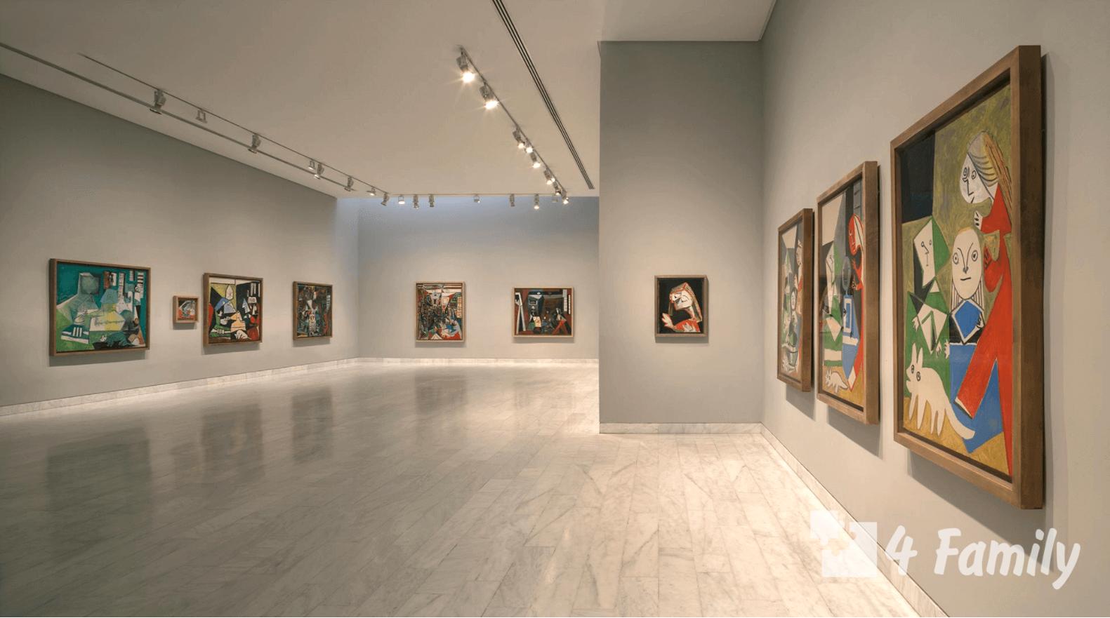 4family Музей Пикассо в Барселоне
