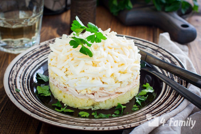 Какой салат можно приготовить с плавленым сыром