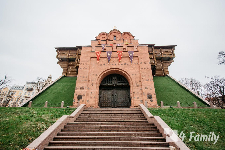Золотые ворота в Киеве – наиболее величественное сооружения Киева