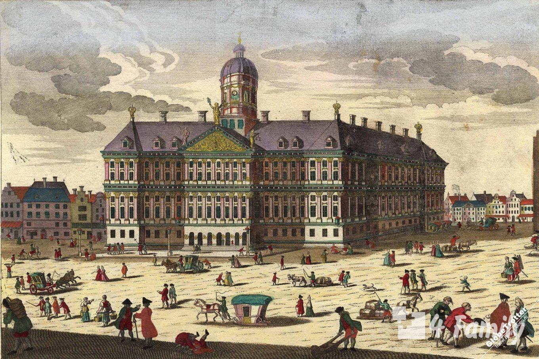4family Королевский дворец в Амстердаме