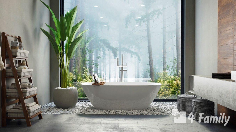 4family Секреты озеленения для ванной комнаты