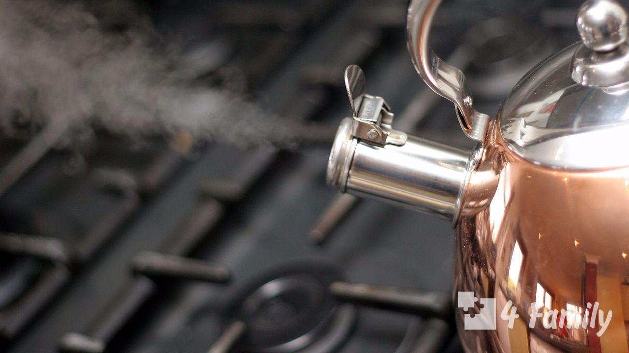 4family Как убрать накипь в чайнике в домашних условиях