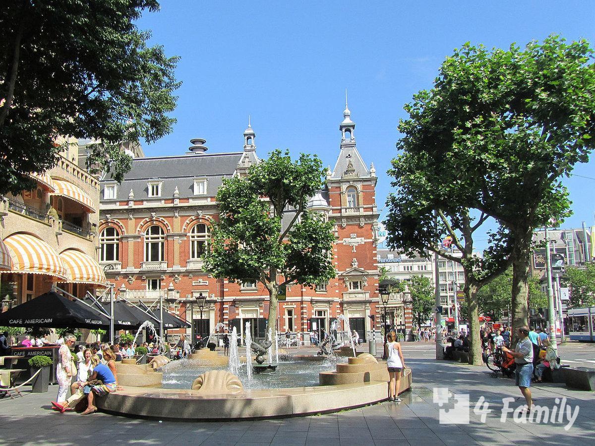 Лейдсеплейн в Амстердаме