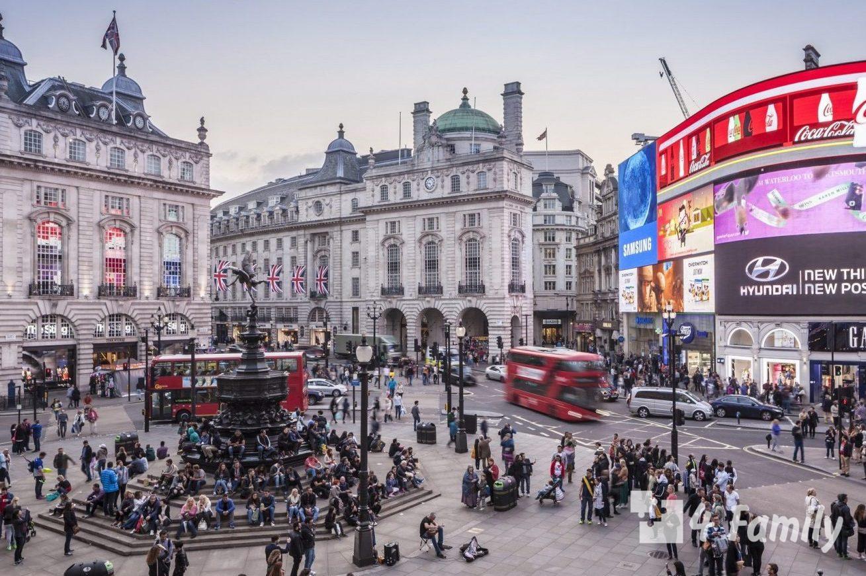 Пикадилли в Лондоне