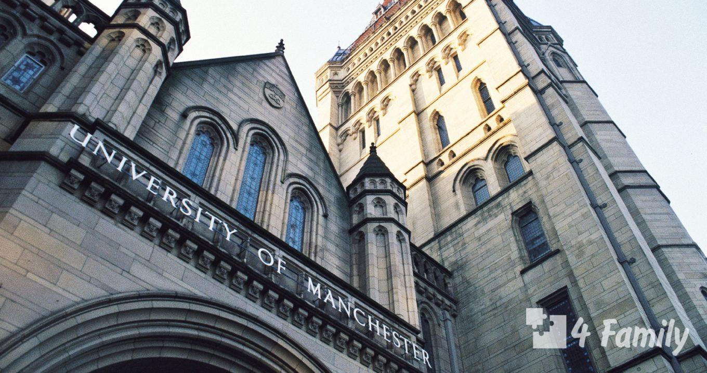 Манчестерский университет в Великобритании