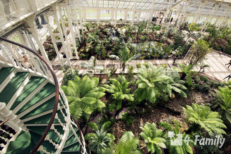 Королевские ботанические сады Кью в Лондоне