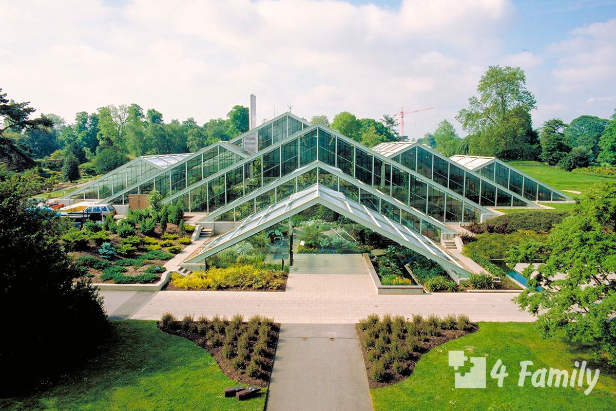 4family Королевские ботанические сады Кью в Лондоне