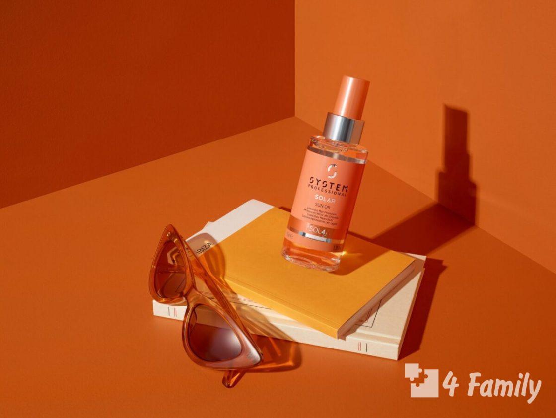 4family Натуральные косметические масла для защиты от солнца