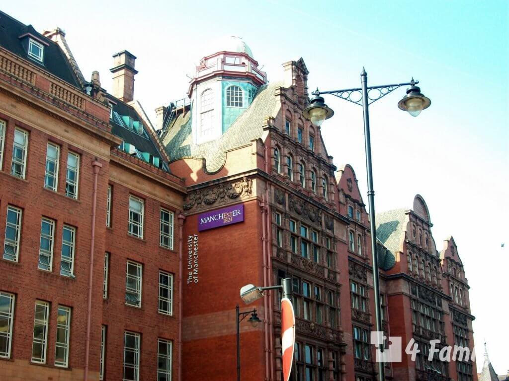 4family Лучшие достопримечательности Манчестера в Англии